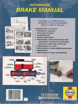 Automotive Brake Manual (Techbook Series)