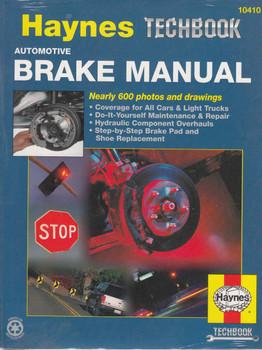 Automotive Brake Manual (Techbook Series) (038345021121)