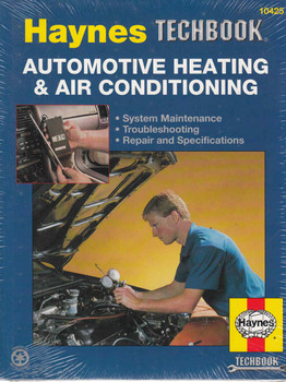 Automotive Heating & Air Conditioning Manual (Techbook Series) (9781563927843)