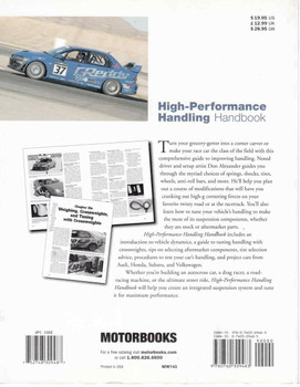 High Performance Handling Handbook - First Edition (9780760309483)