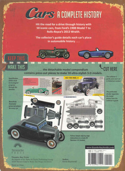 Cars: A Complete History - With 50 Easy-To-Make Models 2 Books in 1 (9781626861541)