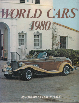 World Cars 1980 (Automobile Club Of Italy) (9780910714129)