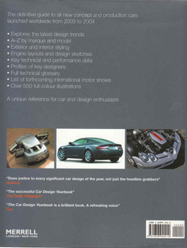 The Car Design Yearbook 3 (9781858942414)