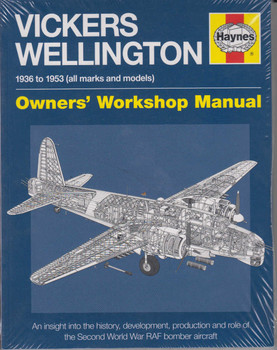 Vickers Wellington 1936 to 1953 (all marks and models) Owners' Workshop Manual (Paperback Edition) (9780857338631)