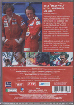 Hunt vs Lauda Grand Prix's Greatest Racing Rivals DVD