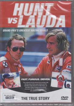 Hunt vs Lauda Grand Prix's Greatest Racing Rivals DVD