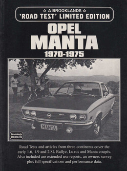Opel Manta 1970-1975 A Brooklands 'Road Test' Limited Edition (9781855203648)