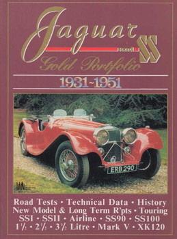 Jaguar and SS Gold Portfolio 1931-1951 (9781855200630)