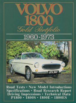 Volvo 1800 Gold Portfolio (9781855201309)