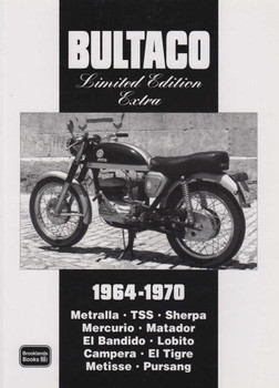 Bultaco Limited Edition Extra 1964-1970 Road Tests (9781855206915)