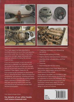E-Type Restoration Manual: Classic Motor Cars with David Barzilay