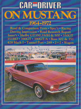 Car And Driver On Mustang 1964-1972 Road Tests (9781870642682)