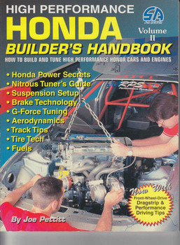High Performance Honda Builder's Handbook Vol.II (9781884089381)
