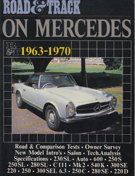 Road & Track On Mercedes 1963-1970 Road Tests (9781869826413)