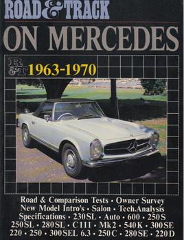 Road & Track On Mercedes 1963-1970 Road Tests (9781869826413)
