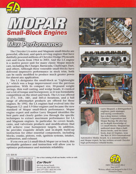 MOPAR Small-Block Engines - How to Build Max Performance