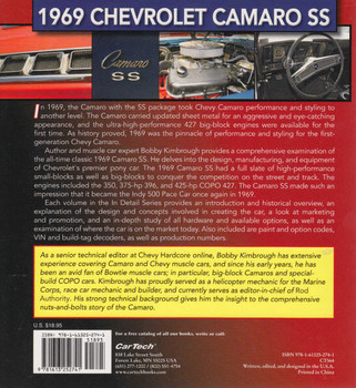 1969 Chevrolet Camaro SS Muscle Cars In Detail No.4 (9781613252741)