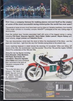 Yamaha A Racing History 1954-2016 DVD (5017559129026) (
