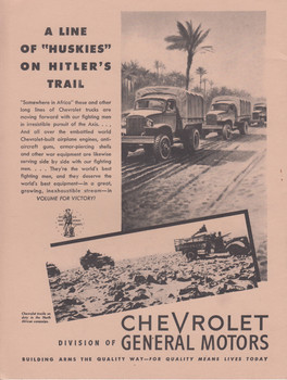 Chevrolet Trucks Vehicles of Victory: On The Fighting Fronts-Abroad ( 9780938242253)