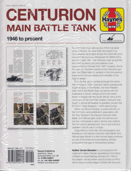 Centurion Main Battle Tank 1946 to present Owners' Workshop Manual (978178521057)