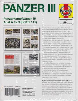 Panzer III Panzerkampfwagen III Ausf A to N (SdKfz 141) Owners' Workshop Manual (9780857338273)