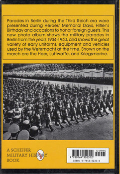 Parades Of The Wehrmacht: Berlin 1934-1940 (9780764302312)