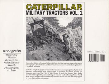 Caterpillar Military Tractors: Photo Archive Vol 1 (9781882256167)