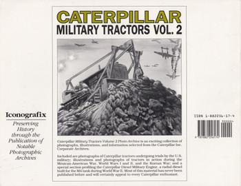 Caterpillar Military Tractors: Photo Archive Vol 2 (9781882256174)