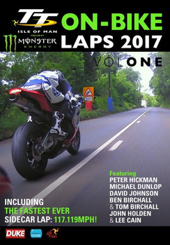 Isle Of Man TT Races 2017 : On-Bike Laps Volume One DVD (5017559129958)