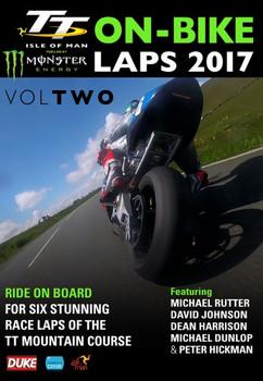 Isle Of Man TT Races 2017 : On-Bike Laps Volume Two DVD (5017559129965)