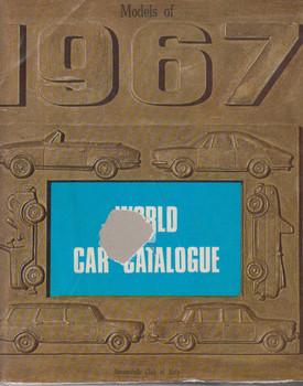 World Car Catalogue 1967 (B001E3DT5A)