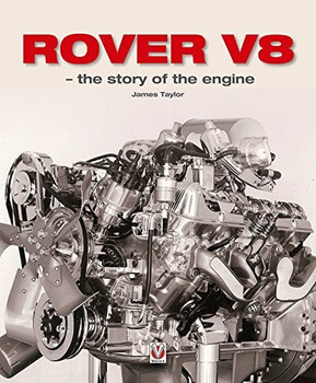 Rover V8 - the story of the engine (9781787110267)