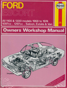 Ford Escort Mk 1 All 1100 & 1300 models 1968 to 1974 Owners Workshop Manual (9780857336446) (view)