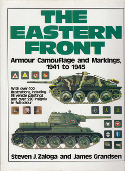The Eastern Front: Armour Camouflage and Markings 1941 to 1945 (9780853685838)