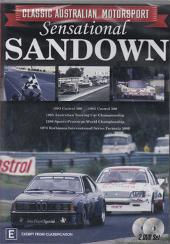Classic Australian Motorsport - Sensational Sandown DVD (9340601001909)