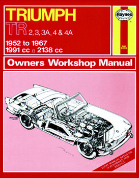 Triumph TR2, TR3, TR3A, TR4 & TR4A (52 - 67) Haynes Repair Manual