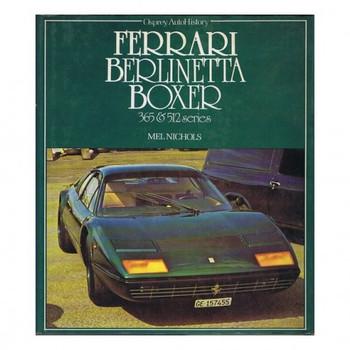 Ferrari Berlinetta Boxer 365 & 512 Series - Osprey Auto Series (9780850453263)