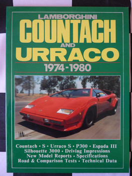 Lamborghini Countach and Urraco 1974-1980 Road Tests (9780948207389)