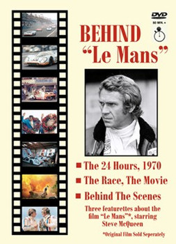 """Behind """"Le Mans"""" - The 24 Hours, 1970 The Race, The Movie, Behind The Scenes DVD"""