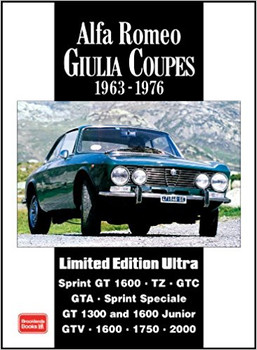 Alfa Romeo Giulia Coupes 1963-1976 Limited Edition Ultra Road Tests