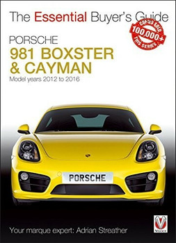 Porsche 981 Boxter & Cayman 3rd Generation model years 2012 to 2016 Essential Buyer's Guide