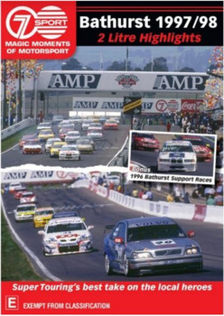 Magic Moments Of Motorsport - Bathurst 1997/98 2 litre Highlights DVD