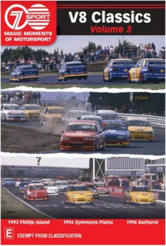 Magic Moments Of Motorsport - V8 Classics Volume 3 DVD (9340601001947)