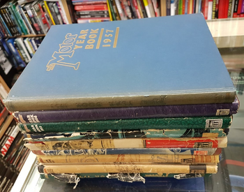 The Motor Year Book 1949 Set (1949 - 1957) Compiled by L Pomeroy & R.L. Walkerley