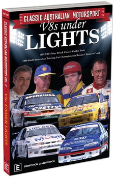 Classic Australian Motorsport – V8s Under Lights - Classic Australian Motorsport Volume 2 DVD
