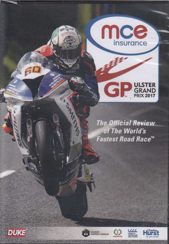 MCE Ulster Grand Prix 2017 DVD -The Official Review of the World's Fastest Road Race