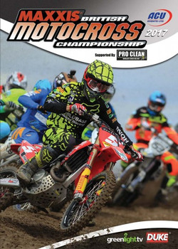 British Motocross Championship 2017 Review (179 Mins) DVD
