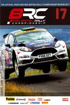 British Rally Championship Review 2017 (239 Mins) DVD