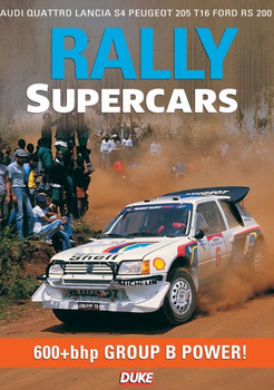 Rally Supercars DVD, 600+bhp Group B Power (55 Mins)