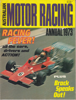 Australian Motor Racing Annual 1973